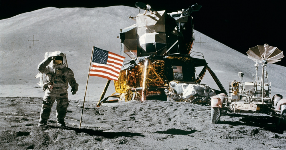 Neil Armstrong Man On The Moon Landing 1969