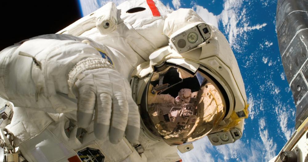 Astronaut Orbit Earth SpaceSuit