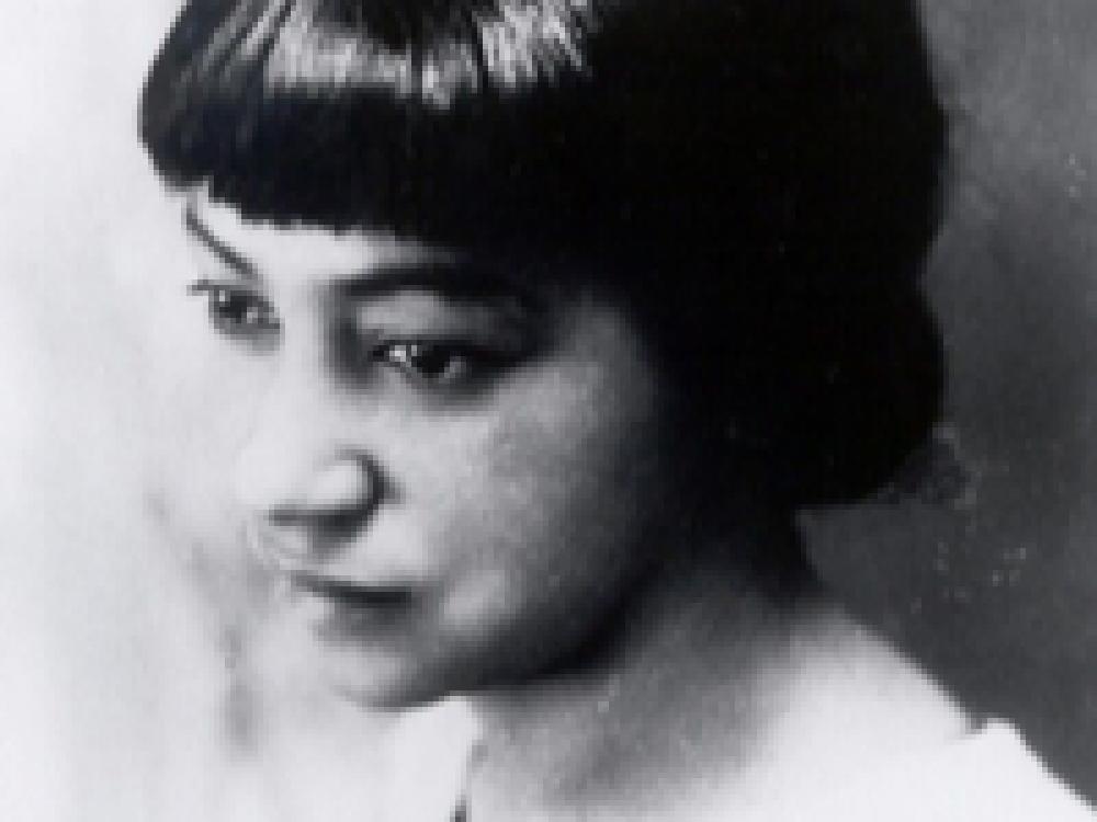 Inez Beverly Prosser Black Woman Black and White Photo