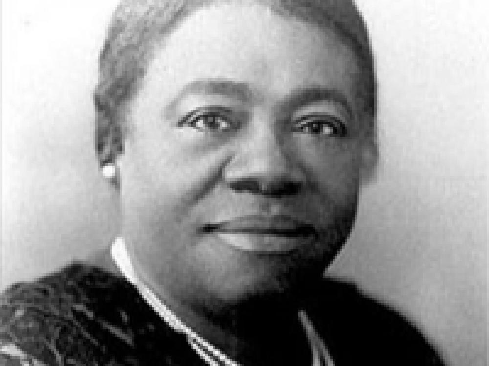 Mary McLeod Bethune  Black Woman Black and White
