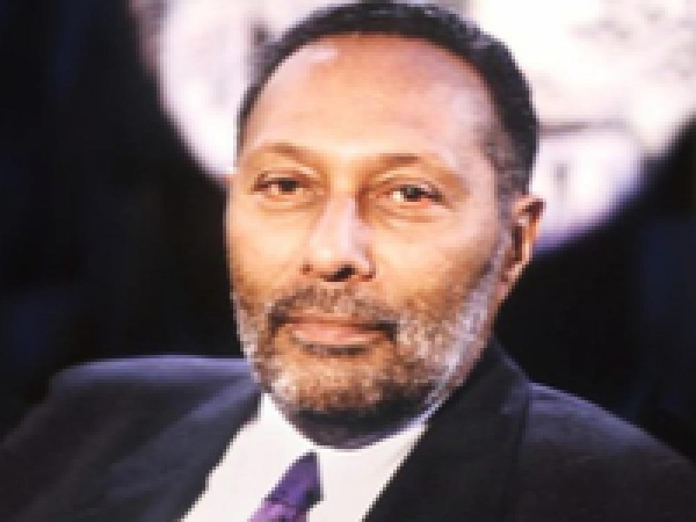 Stuart Hall Black Man Beard Colour Photo