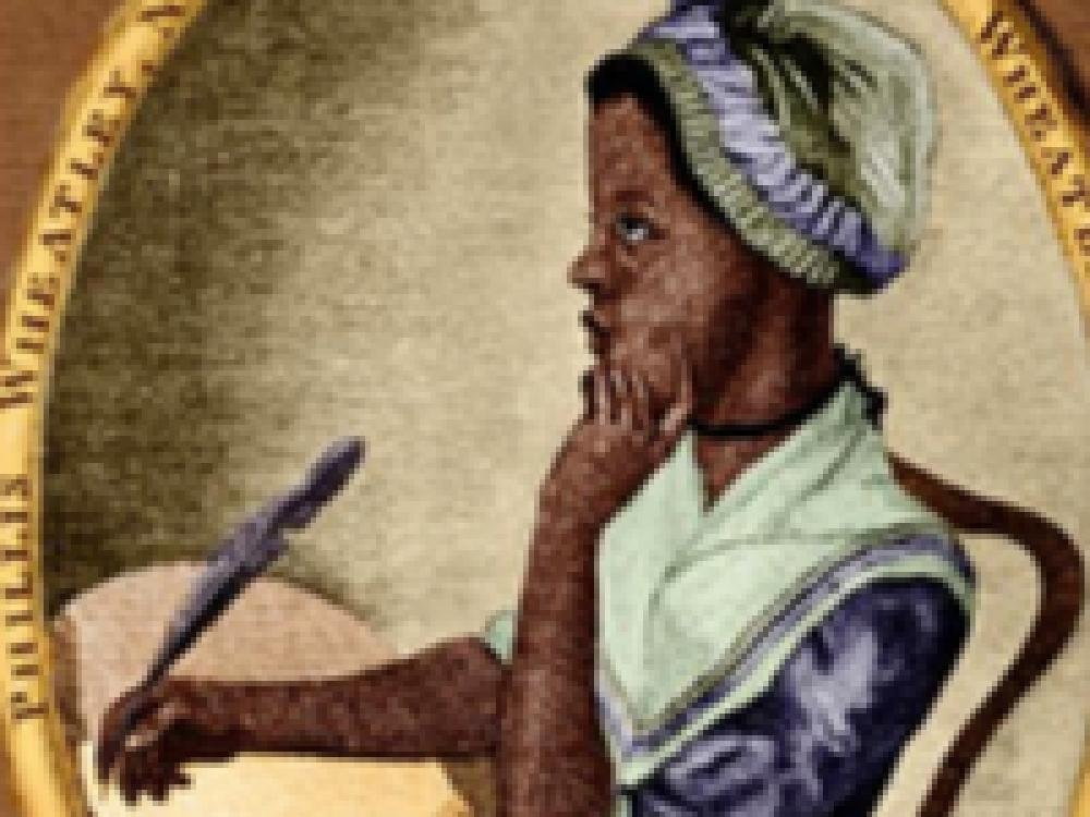 Phillis Wheatley  Artwork Painting Black Woman