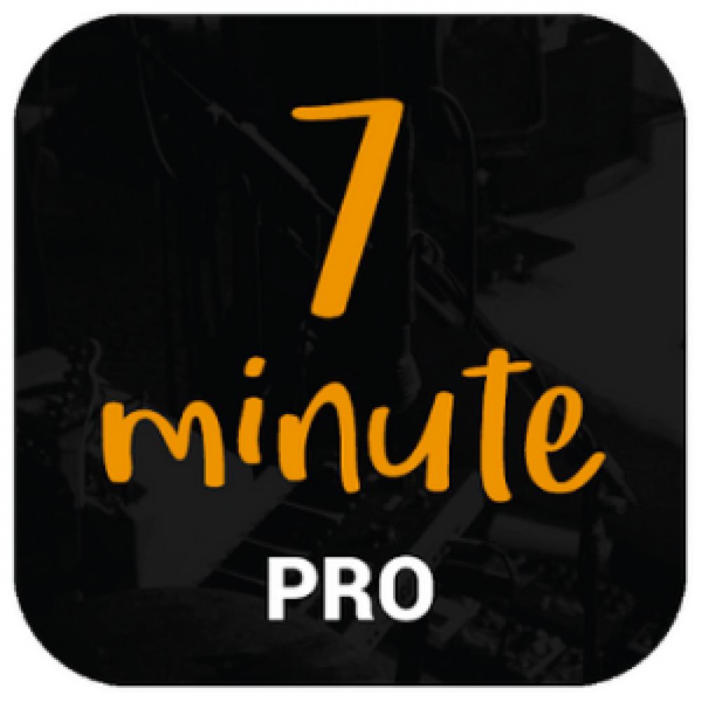black background orange text app store logo