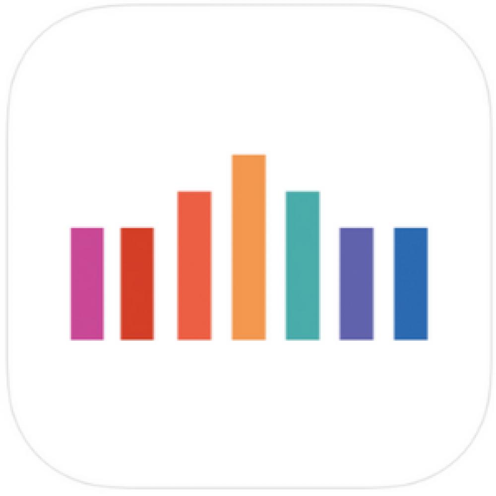 colours bars logo app store