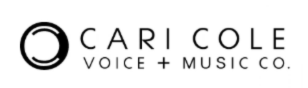cari cole logo black and white