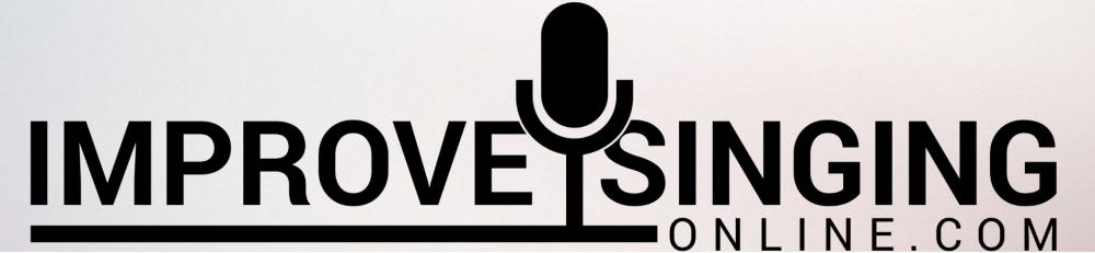 Improve sinign logo icon microphone