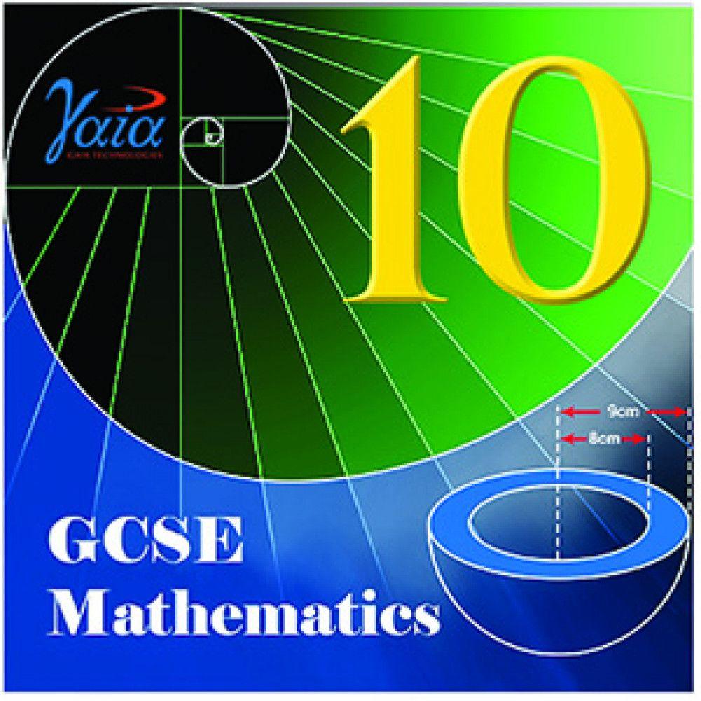 green blue spiral maths 10 white text