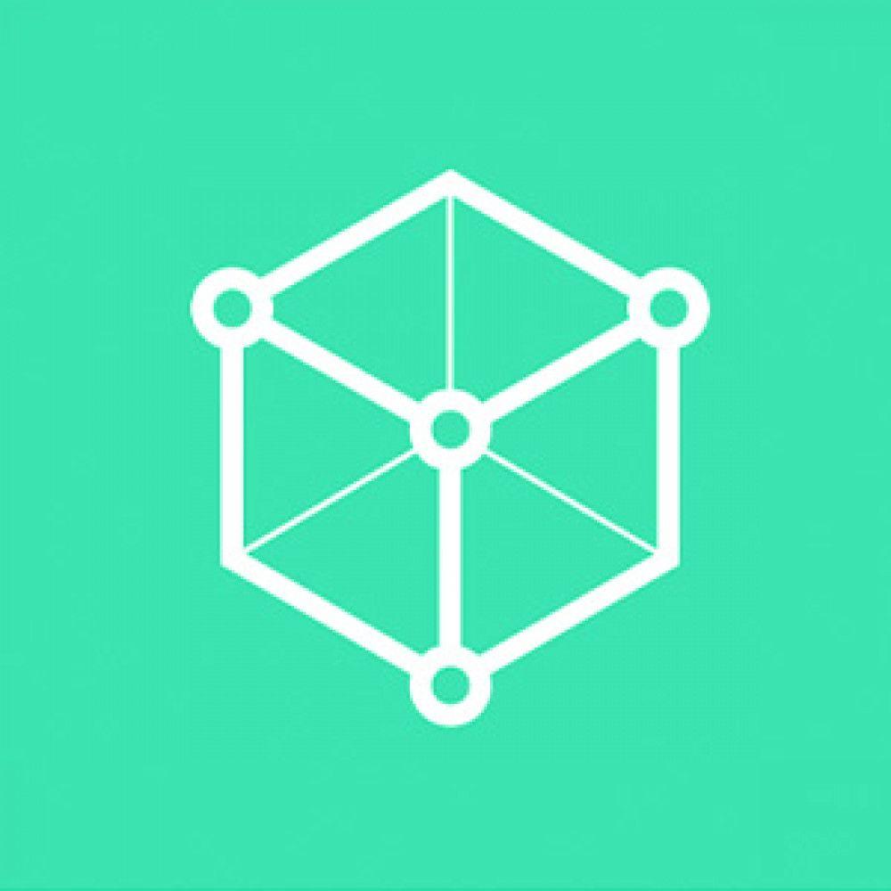 green white shape geometric hexagon